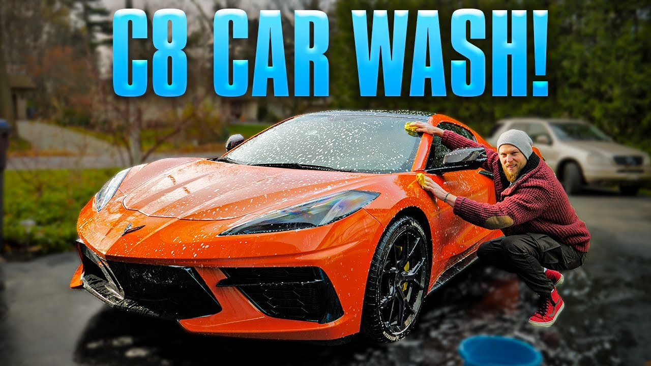 Corvette C8 Hand Wash Top Tips | Avoid These Mistakes!