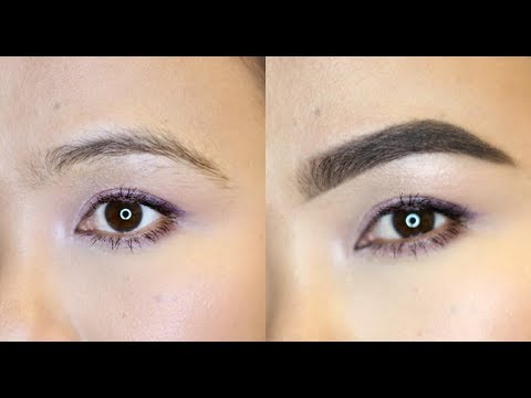 Easy Eyebrow Tutorial | GIVEAWAY