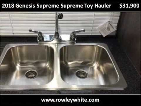 2018 genesis toy hauler. wonderful hauler 2018 genesis supreme toy hauler new cars mesa az inside genesis toy hauler u