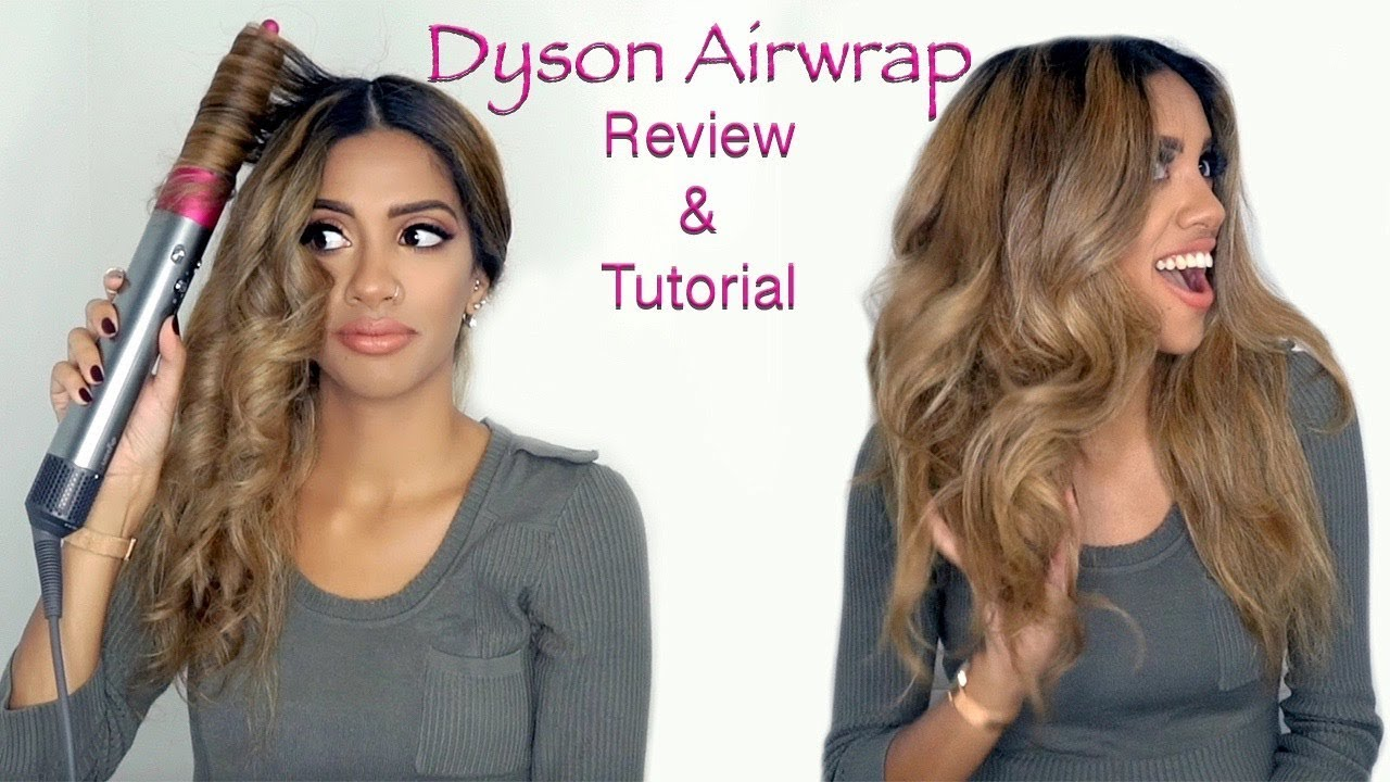 The Dyson Airwrap Review Tutorial Ariba Pervaiz Youtube