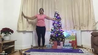 16-12-2020 - Hatha Yoga With Bhavnaben Jogi