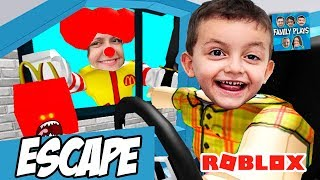 Roblox Escape do McDonald