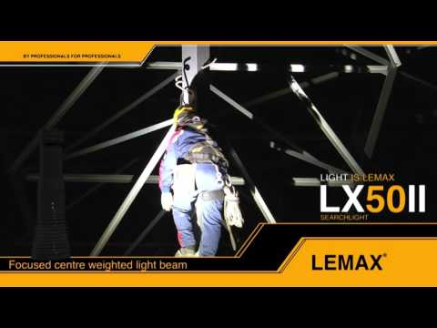 LEMAX searchlights   power lines maintenance