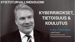 Kyberrikollisuus, tietoisuus ja koulutus - Timo Piiroinen (KRP) - #TietoturvallinenSuomi