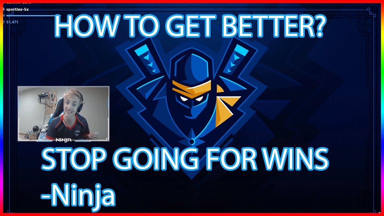 How To Get Better At Fortnite Tip From Ninja Fortnite Highlights