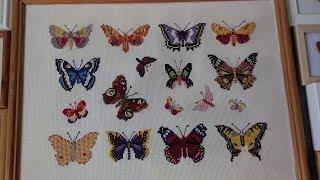 Вышивка крестиком Бабочки , ✁ Урок 2, ✁ от М алинка kid TV