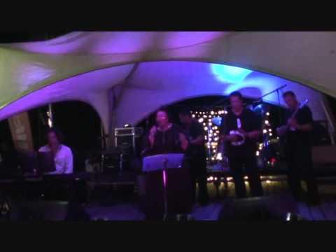 Mahia Blackmore,Arnold Tihema & Paradise Band at The Fiji Jazz and Blues Festival 2011