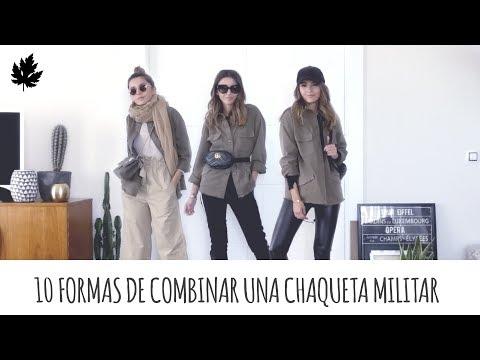 10 FORMAS DE COMBINAR UNA CHAQUETA MILITAR | ALEXANDRA PEREIRA
