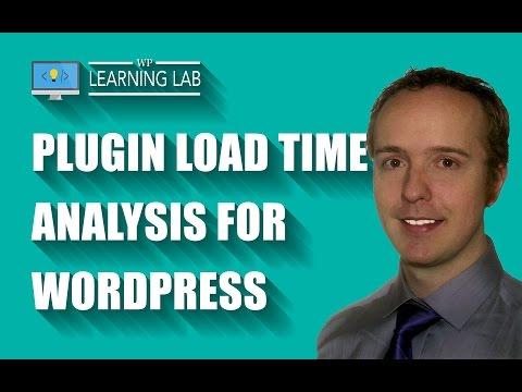 Wordpress Load Time Test With P3 (Plugin Performance Profiler)