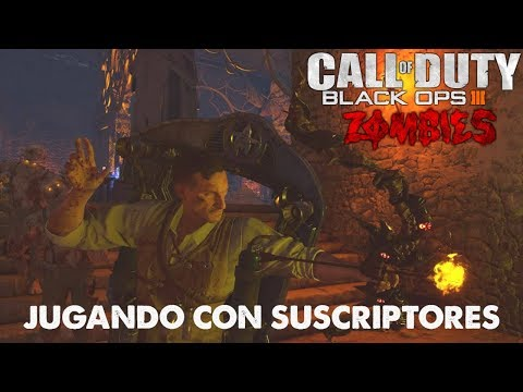 BLACK OPS 3 ZOMBIES | JUGANDO CON SUSCRIPTORES SUBIENDO RONDAS | CALL OF DUTY ZOMBIES