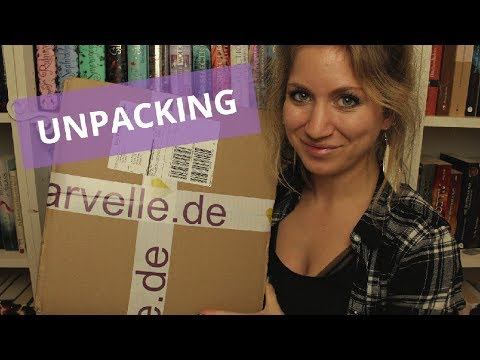 ✨Bücher-Haul: ARVELLE-Unpacking Oktober 2018