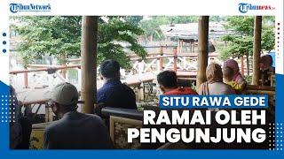 Situ Rawa Gede Ramai, Penjual Makanan Terbantu