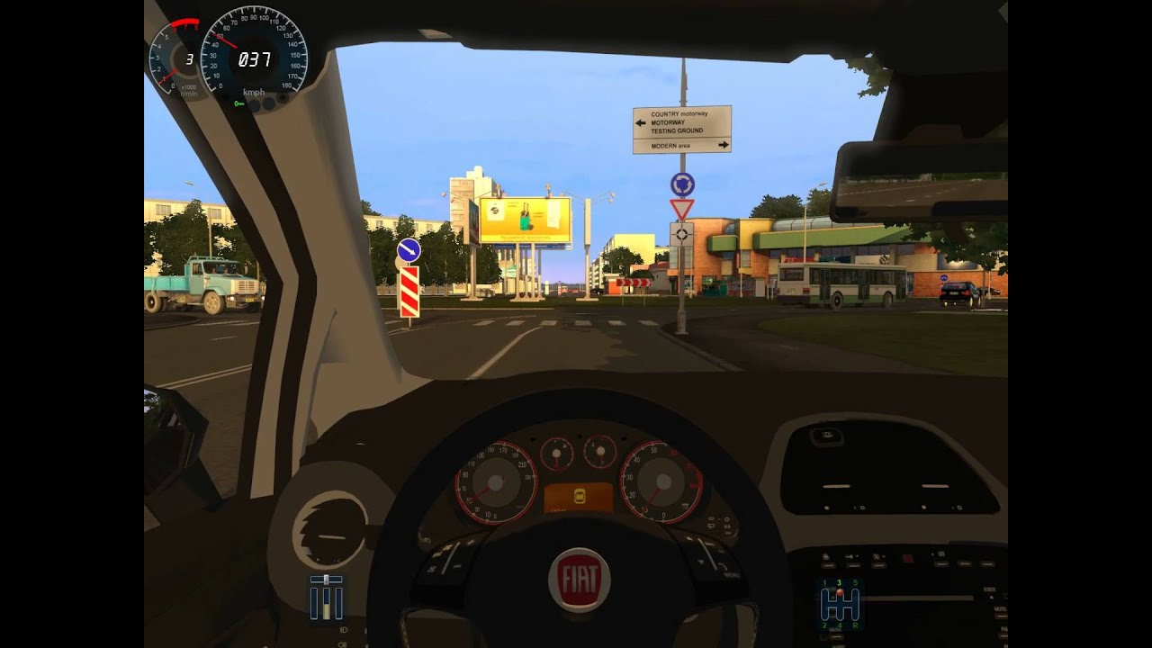 & City Car Driving/3D Instructor 2.2.7 Fiat Punto Evo with G27 - YouTube markmcfarlin.com