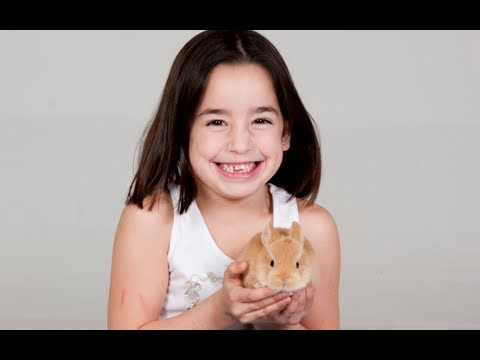 CONEJOS - Cómo sujetar a nuestro conejo