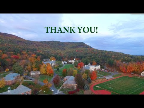 Thank You for Supporting Berkshire School's Annual Fund