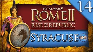 THE FALL OF ROME Total War ROME II Rise of the Republic Syracuse C aign Gameplay 14