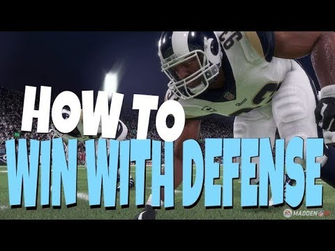 HOW TO PLAY LOCK DOWN DEFENSE IN MADDEN 19! TIPS &TRICKS TO BE A BETTER DEFENDER AT RUN & PASS