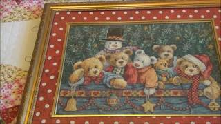 #Dimensions Dimensions 08761Beary Christmas,70-08862 Winter's Hush,70-35328