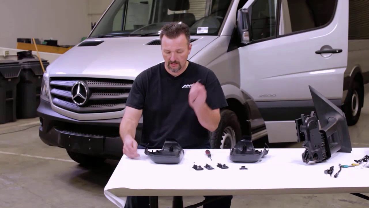 Mercedes Benz Sprinter Side Cameras