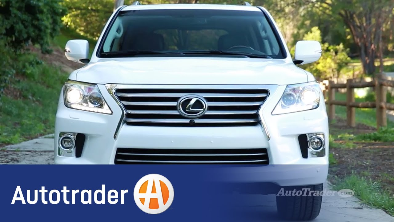 2015 Lexus LX 570 5 Reasons to Buy