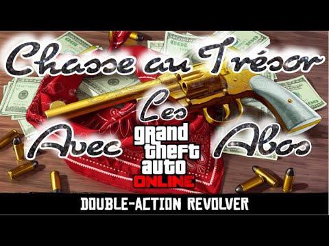🗝 Chasse au 👑 TRÉSOR 👑  avec les ABOS ⚜️ GTA 5 Online
