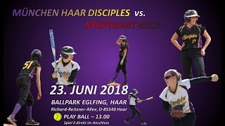 Softball Bundesliga: Haar Disciples vs. Stuttgart Reds