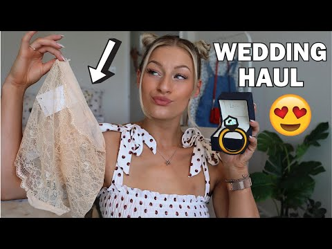 15 THINGS I'VE BOUGHT FOR MY WEDDING DAY...