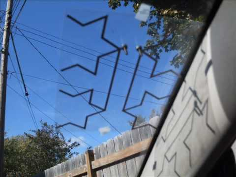 Make a Mobile HD Fractal Antenna ( 3 of 4 ) - YouTube