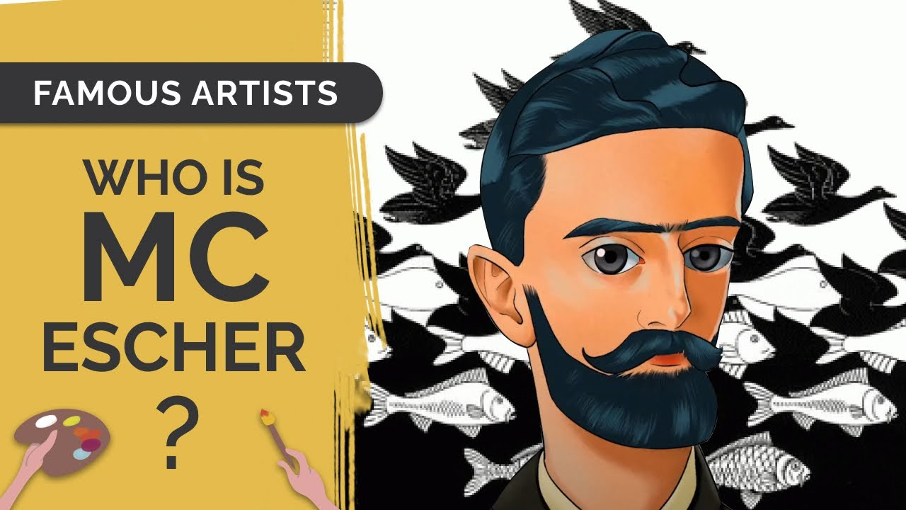 MC ESCHER: Draw & Learn Art History with an Anime Twist!