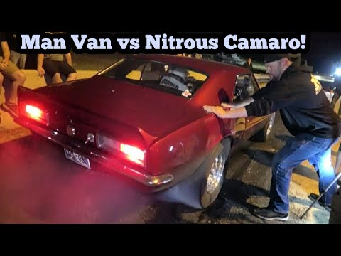 Murder Nova's Man Van Vs Nitrous Camaro