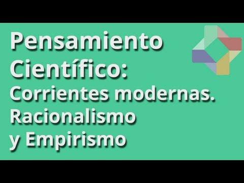 Corrientes modernas de Pensamiento: Racionalismo y Empirismo - Pensamiento Científico - Educatina
