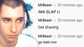 Reacting to MrBeast commenting on my video