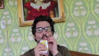 How to drink a juice box