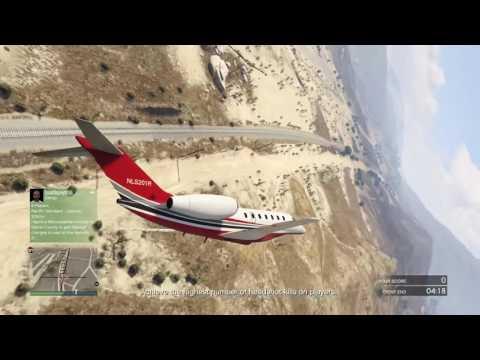 "Gta 5 New Plane Test Flight ""Finance And Felony"""