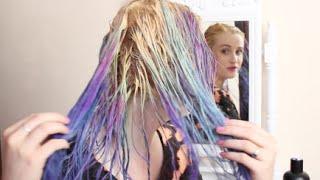 Stripping Hair Colour!