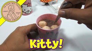 Hello Kitty Plush & Making Hello Kitty Hot Chocolate - Halloween 2013 Series