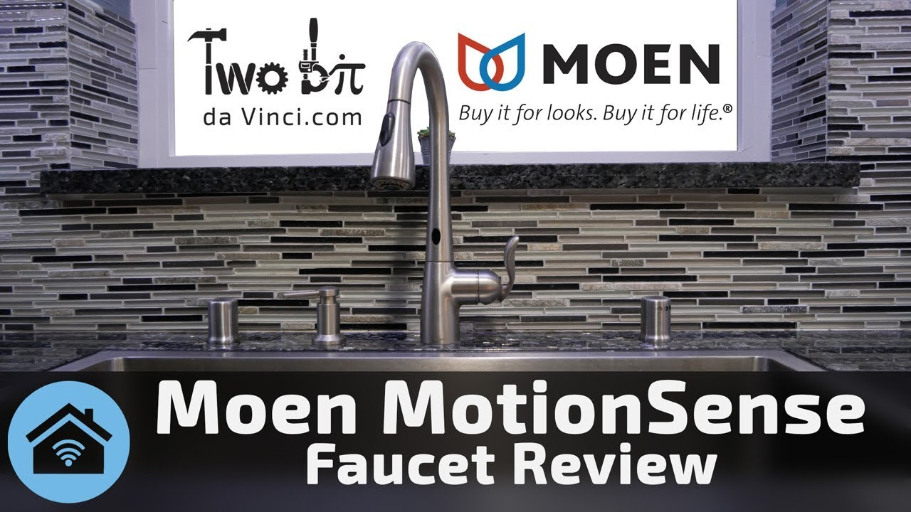 Moen MotionSense Faucet Review: The Best Touch Free Kitchen Faucet
