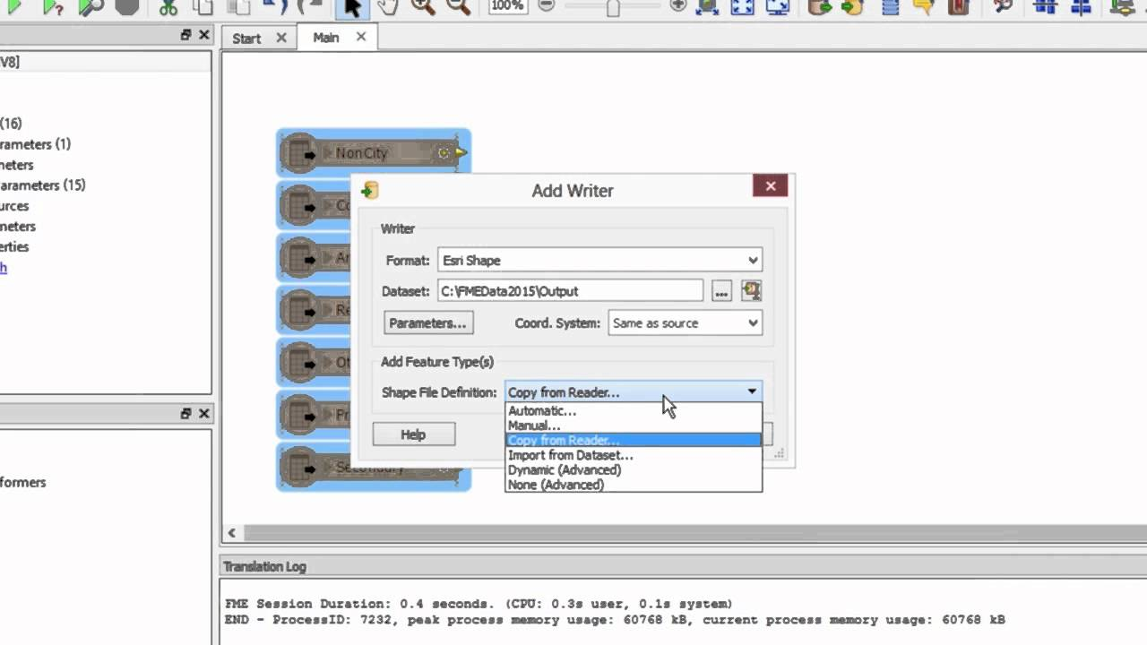 How to convert DGN to SHP (CAD levels to GIS attributes)