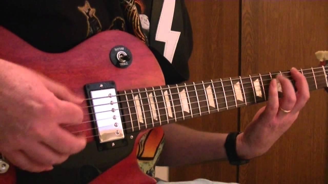 Kid Rock All Summer Long Rhythm Guitar Youtube