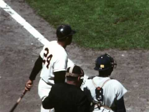 Willie Mays:  RareSportsFilms.com