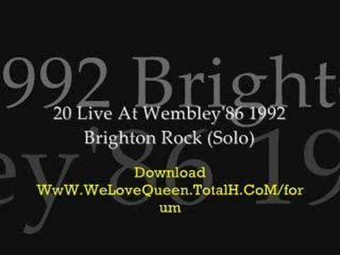 Brighton Rock (Solo) (special online music)