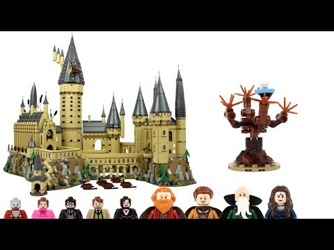 LEGO Harry Potter 2018 Hogwarts Castle 71043 In-Depth Review!