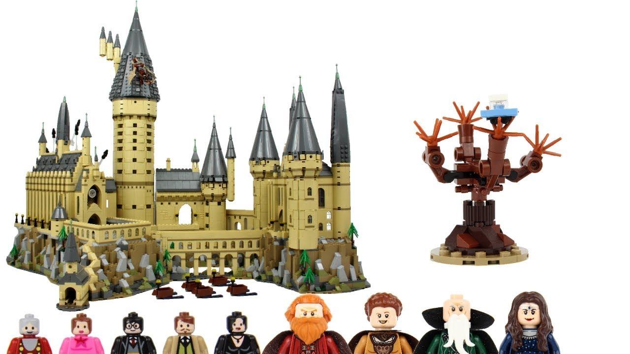 Lego Harry Potter 71043 Salazar Helga Hufflepuff Rowena /& Godric Minifigures
