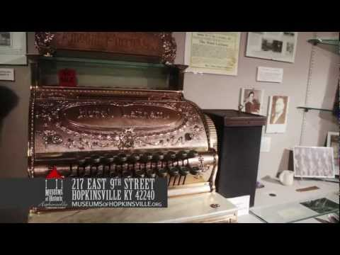 Museums of Historic Hopkinsville-Christian County - Edgar Cayce, Tobacco, Military - Western KY
