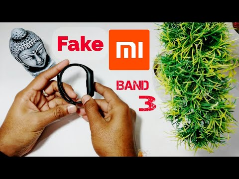 Fake 🔥Mi (xiaomi)Band 3 Unboxing, Comparison Between Fake And Real Mi Band 3