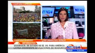 """Otto Reich asegura que las acusaciones de Maduro sobre plan para asesinarlo """"son mentiras"""""""