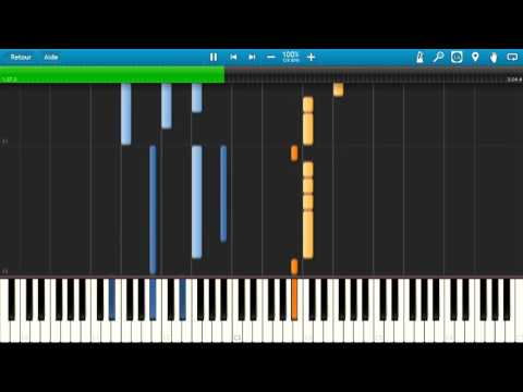 Ailee - Evening Sky [Synthesia] - Piano