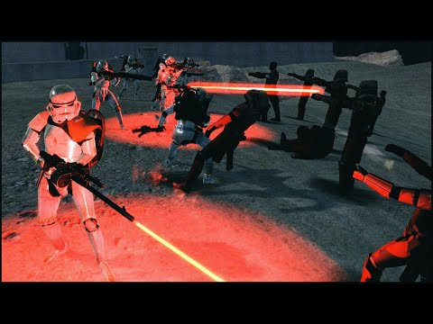 STORMTROOPERS VS ZOMBIES - Star Wars: Galaxy at War Mod Gameplay