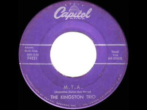 1959 HITS ARCHIVE: M.T.A. - Kingston Trio