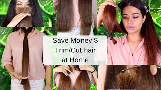 Download How to Cut or Trim your Hair at Home| gulz_beauty Mp3 and Videos